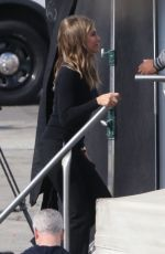 Jennifer Aniston Cuts a slim figure on new project with Steve Carell In Los Angeles
