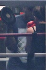Jennifer Garner Takes some time off from parenting and hits the boxing ring In Los Angeles
