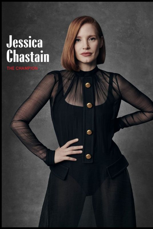 Jessica Chastain - marie claire april 2019