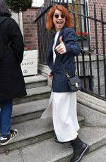 Jessie Buckley At The Merrion Hotel in Dublin, Ireland
