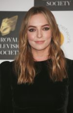 Jodie Comer Attends The Royal Television Society Programme Awards 2019 at the Grosvenor House Hotel in London