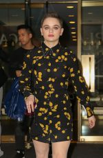Joey King Out in New York City