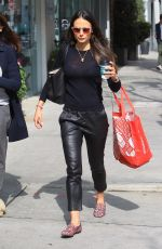 Jordana Brewster Shopping in Beverly Hills