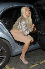 Jordyn Woods Arrives at Zuma restaurant with her mother in London