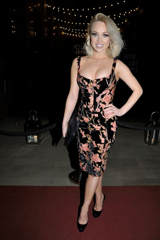 Jorgie Porter and Victoria Akanoye Arriving at The Christie Charity Ball at Principal Hotel in Manchester