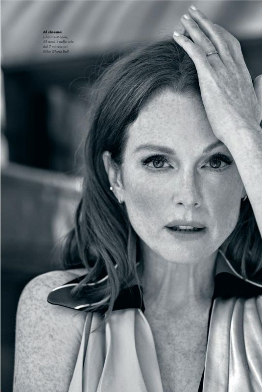 Julianne Moore - Elle Magazine Italy, March 2019