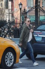 Julianne Moore Out in New York