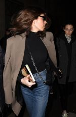 Kaia Gerber Arrives at the Isabel Marant show in Paris