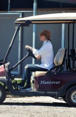 Kaley Cuoco Attends an equestrian competition in La Quinta