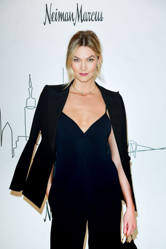 Karlie Kloss At Neiman Marcus Hudson Yards Party in New York City