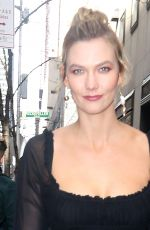 Karlie Kloss Visiting Today Show in New York