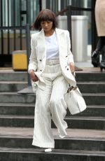 Kat Graham Arriving at United Nation Women For Peace Awards Luncheon in NYC