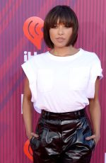 Kat Graham At 2019 iHeartRadio Music Awards in Los Angeles