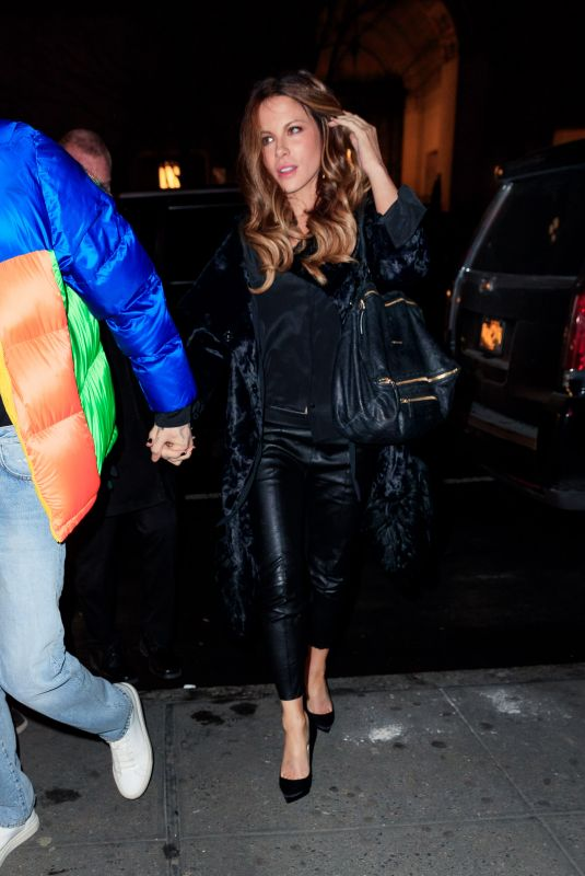 Kate Beckinsale Out in NYC