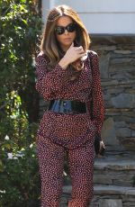 Kate Beckinsale Outside her home in Los Angeles
