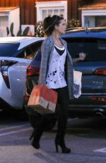 Kate Beckinsale Shopping in Brentwood