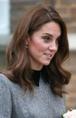Kate Middleton Leaving the Foundling Museum in London