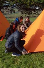 Kate Middleton Visits Roscor Youth Village in Belfast