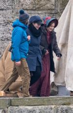 Kate Winslet On set of new movie