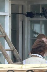 Kate Winslet & Saoirse Ronan On the set of