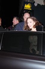Katharine McPhee At the Adelphi Theatre where she plays the waitress in new musical in London