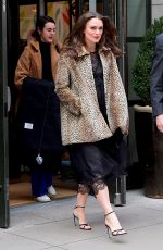 Keira Knightley Leaving her hotel in New York City