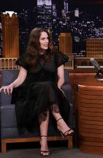 Keira Knightley On The Tonight Show Starring Jimmy Fallon in New York City