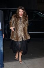 Keira Knightley Returns home after promoting