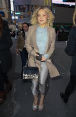 Kelli Berglund Leaves after a