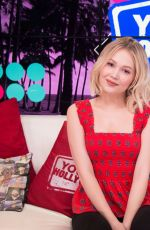 Kelli Berglund Visits the Young Hollywood Studio in Los Angeles