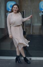 Kelly Brook Arriving at Global Studios in London