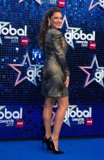 Kelly Brook At The Global Awards 2019 in London