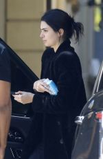Kendall Jenner Arriving for a photo shoot Los Angeles