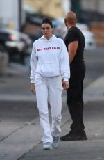 Kendall Jenner Seen laughing and smiling In Los Angeles