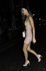 Kendall Rae Knight And Ellie Brown Arriving At China White Manchester
