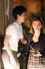Kiernan Shipka Out for dinner at Chateau Marmont in West Hollywood