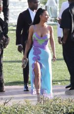Kim Kardashian At The Wedding Ceremony Of Chance The Rapper And Kirsten Corley