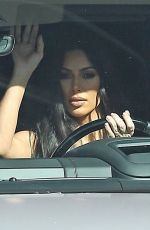 Kim Kardashian Exit from studio in Los Angeles