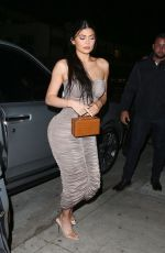 Kylie Jenner Out for dinner in Santa Monica