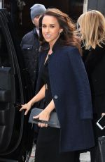 Lacey Chabert Outside Good Morning America in NYC