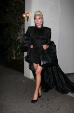 Lady Gaga At Night out in Los Angeles