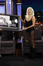 Lady Gaga On Jimmy Kimmel Live in Hollywood