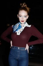 Larsen Thompson At Tommy Hilfiger show in Paris