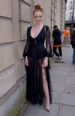 Larsen Thompson Outside the Elie Saab Ready To Wear F/W 2019-2020 show in Paris