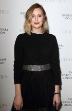 Laura Carmichael At The George Michael Collection VIP Reception at Christies in London