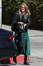 Laura Dern Leaving the Ivy in Santa Monica