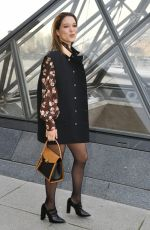 Lea Seydoux At Louis Vuitton show during Paris Fashion Week Womenswear Fall/Winter 2019/2020