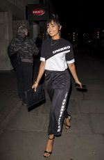 Leigh-Anne Pinnock At Night out with her boyfriend in London