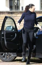 Lilly Becker Gets parking ticket while having lunch in London