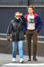 Lily-Rose Depp Out in NYC